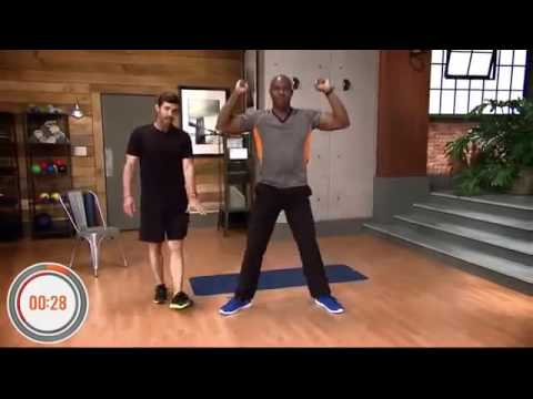 The 7 Minute upwave exercise workout For Turner Broadcasting Net